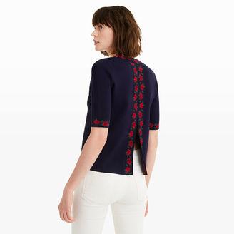 Vimala Jacquard Sweater $169.50 thestylecure.com