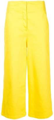 Tibi (ティビ) - Tibi cropped wide-leg jeans