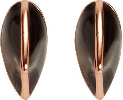 Dominic Jones Rose Gold & Enamel Small Thorn Stud Earrings