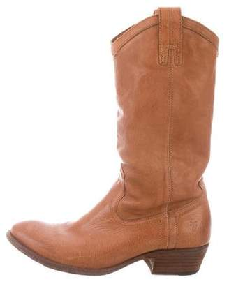 Frye Leather Western Boots