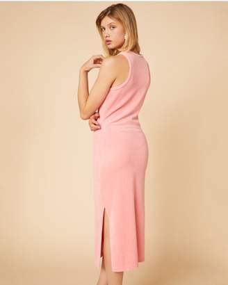 Juicy Couture Stretch Velour Midi Dress