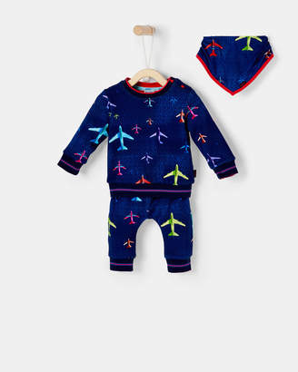 Ted Baker NICRIC Aeroplane cotton lounge set