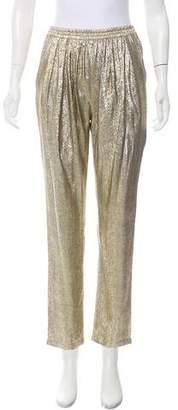 Stella McCartney High-Rise Straight-Leg Pants