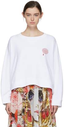 Undercover White Rose Sweatshirt