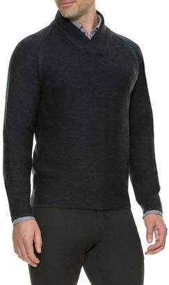RODD AND GUNN Kiner Lane Shawl Collar Wool Sweater