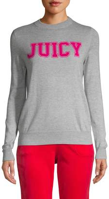 Juicy Couture Classic Graphic Logo Sweater