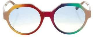 Marco De Vincenzo 2015 Rainbow Oversize Sunglasses