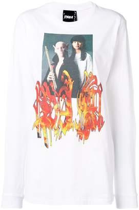 Perks And Mini Pam printed long sleeved T-shirt