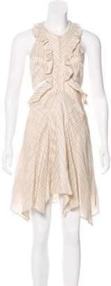 Isabel Marant Ruffle Cutout Dress