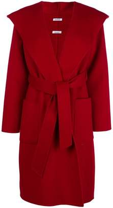 P.A.R.O.S.H. hooded wrap coat