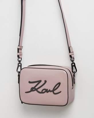 Karl Lagerfeld K/Signature Camera Bag
