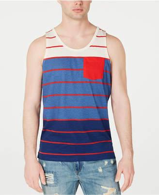 American Rag Men Colorblocked Striped Tank