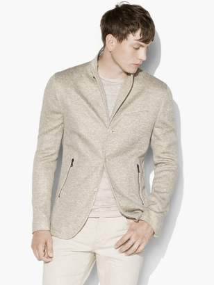 John Varvatos Zip Pocket Jacket