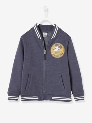 Vertbaudet Mickey Fleece Jacket with Lining