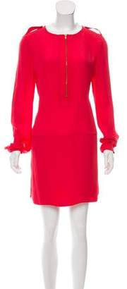 A.L.C. Long Sleeve Silk Dress