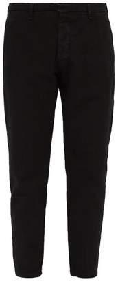 J.w.brine J.W. Brine J.w. Brine - Austin 17 Cotton Drill Trousers - Mens - Black