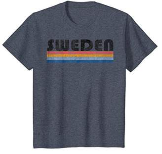 Vintage 1980s Style Sweden T-Shirt