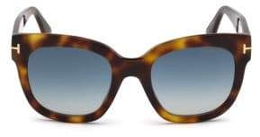Tom Ford 50MM Beatrix Square Sunglasses
