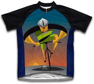 Scudo Unstoppable Microfiber Short-Sleeved Cycling Jersey, Assorted Sizes