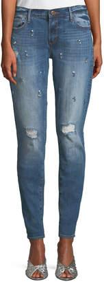 Driftwood Beau Rhinestoned Boyfriend Jeans