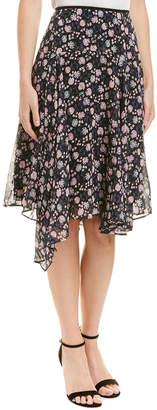 Nanette Lepore Bellezza Silk Skirt