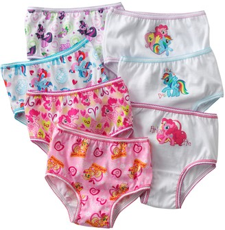 Hasbro My Little Pony 7-pk. Brief - Toddler Girl