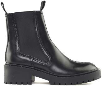 Kenzo Smooth-leather Chelsea Boots