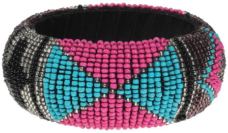 Found by Fab Beaded Bangle Multi