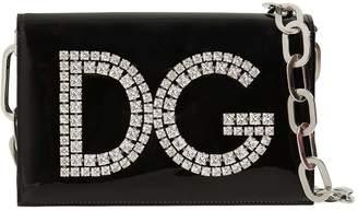 Dolce & Gabbana Girls Patent Leather Shoulder Bag