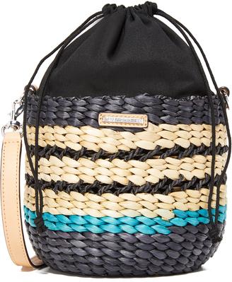 Rebecca Minkoff Mini Basket Cross Body Bag $195 thestylecure.com