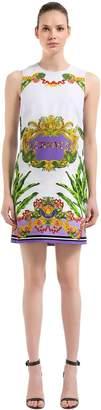 Versace Baroque Miami Viscose Crepe Dress