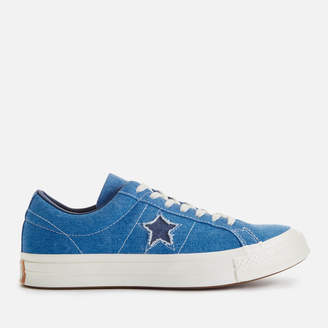 Men's One Star Ox Trainers - Totally Blue/Navy/Egret