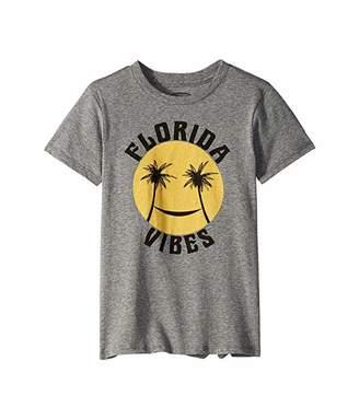 Tiny Whales Florida Vibes Short Sleeve Tee (Infant/Toddler/Little Kids/Big Kids)