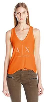 Armani Exchange A X Women's Core Logo Tank Top