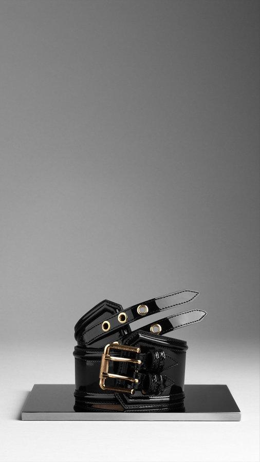 Patent Corset Belt
