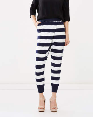 Wrap Crop Pants