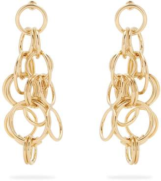 Chloé Reese hoop drop earrings