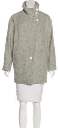 IRO Linen & Wool-Blend Coat
