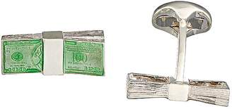 Deakin & Francis Men's Money Stack Cufflinks