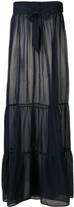 Marlies Dekkers tiered beach maxi skirt