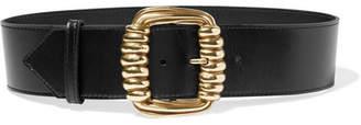 Etro Leather Waist Belt - Black
