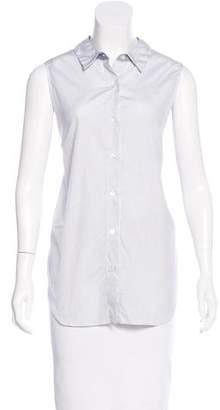 Jenni Kayne Striped Button-Up Top w/ Tags