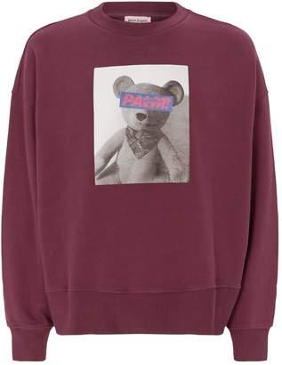 Palm Angels Bear Graphic Sweatshirt