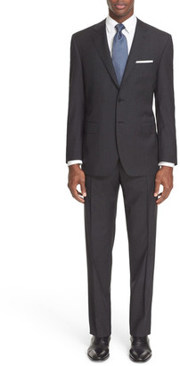 Canali &13000& Classic Fit Plaid Wool Suit $1,895 thestylecure.com