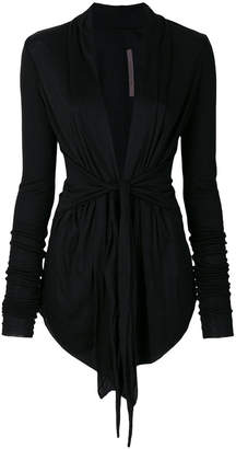 Rick Owens Lilies belted cardigan