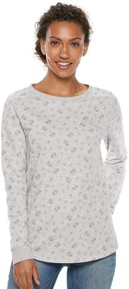 Sonoma Goods For Life Women's SONOMA Goods for Life French Terry Crewneck Sweatshirt