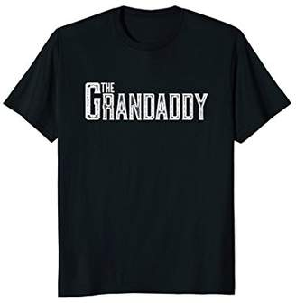 The Grandaddy T Shirt Distressed Cool Grandpa Boss Gift Tee