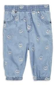 Stella McCartney Baby's Pipkin Embroidered Chambray Cotton Pants
