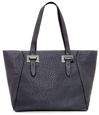 Vince Camuto Fava Lambskin Leather Tote