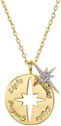 """Lulu DK Star Guiding Light Necklace, 16"""""""